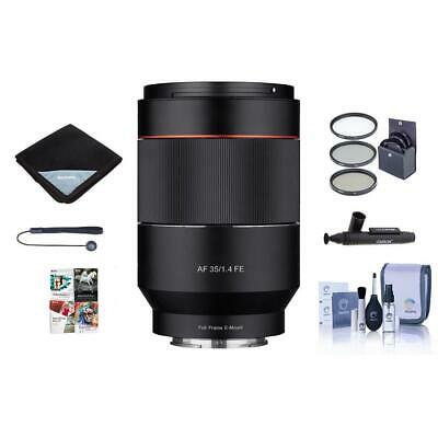 Samyang 24mm T1.5 Cine DS Lens for Canon EF Mount With Free Accessory Bundle