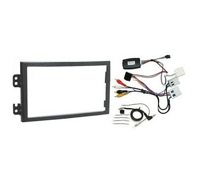 InCarTec FK-256 350z 2002 - 2006 Double Din Stereo Fitting Kit for Bose