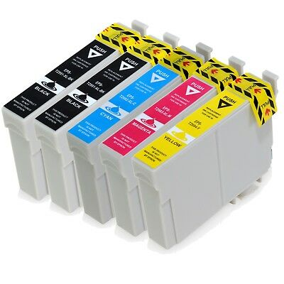 5x Ink Cartridges Non OEM 29XL For Epson XP442 XP345 XP342 XP247 XP245 Printers