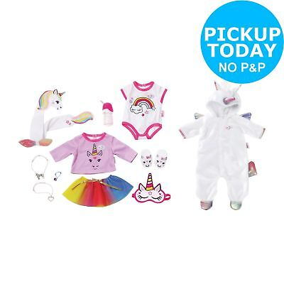 BABY Born Unicorn One Piece Outfit and Accessory Set