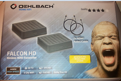 Oehlbach Falcon Hd Wireless Hdmi Transmitter Für 3D Dt5 Fullhd Wifi