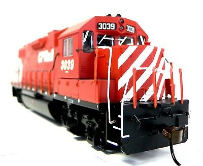 HO Scale Model Railroad Trains Layout Engine CP Rail GP-38 DCC & Sound Equipped