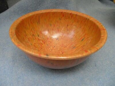 "TEXAS WARE 8"" MIXING BOWL~Brown Confetti~# 111"