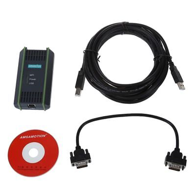 USB Cable Cable PPI MPI OF Programming + CD FOR Siemens S7-200 / 300/400 PL P4B7