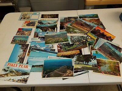 Postcards, Random Vintage Post card Lot of 90 U.S. View Post Cards 1970's ?  #31