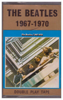 Maxi-MC, Double Play Tape: The Beatles 1967 - 1970 Blue Blaues Album 28 Tracks