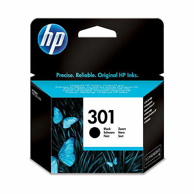 Genuine Original HP 301 Black Ink Cartridge For Deskjet 1050A Inkjet Printer