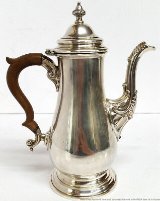 Birks Original Hall Marked 1757 Canadian Made Sterling Silver Teapot Ca 1930s