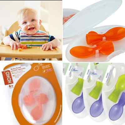 baby feeding weaning pouches screw on portable