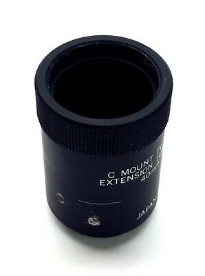 JAPAN Camera Lens Extension Tube, 40mm Extension, C-Mount Male to C-Mount Female