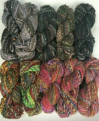 Noro Obi 100g Shades 6 silk and mohair 8 and 9 Stunning colours-wool