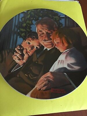 Norman Rockwell First Issue Commemorative Plate- Christmas Story