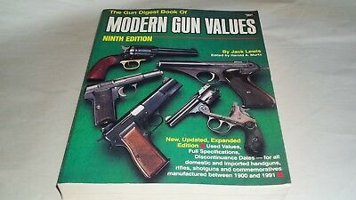 1993 Modern Gun Values Price Guide By Jack Lewis