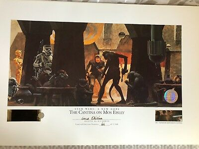 STAR WARS A NEW HOPE The Cantina on Mos Eisley RALPH McQUARRIE