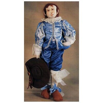 Cloth Doll Pattern The Blue Boy