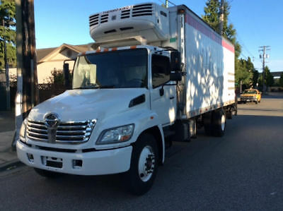 2010 Hino 338 Reefer Truck