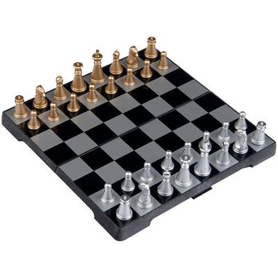 6.3 Inch Magnetic Travel Chess Set (Black and White) G2N5