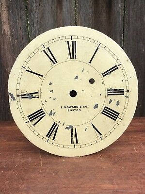 American Weight Driven Wall Clock Dial by E. Howard & Co.