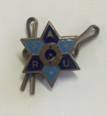 Early Australian Railways Union Member Badge Angus & Coote
