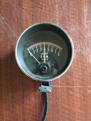Vintage New Tachometer 0 to 8000rpm