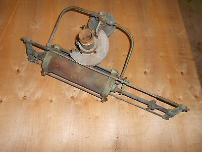 Antique Vintage farm Brass Water Sprinkler, Cannon, Pump? CW Skinner Newfield NJ