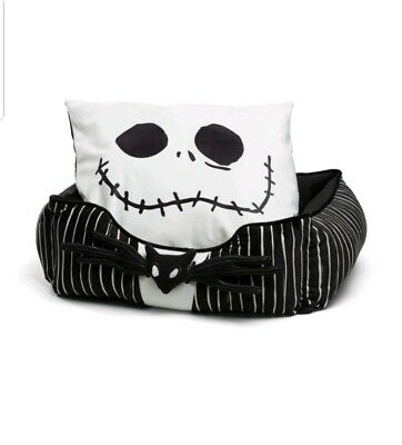 Disney Nightmare Before Christmas Jack Skellington Bumper Pet Bed