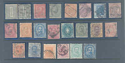 Italy Selection Of Early Stamps Fine/very Fine Used