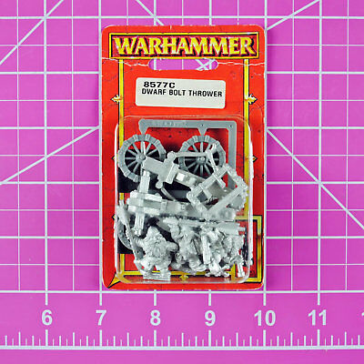 Warhammer Fantasy Dwarf Bolt Thrower NIB Metal OOP Games Workshop Citadel Dwarfs