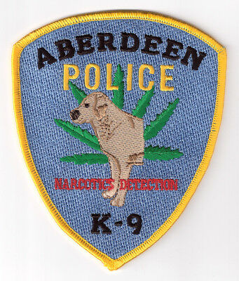 HA|MD Aberdeen Police Narcotics Detection K-9 Patch - Harford County, Maryland