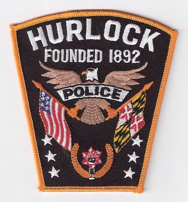 DO|MD Hurlock Police Department Patch - Dorchester County, Maryland