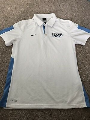 Tampa Bay Rays Nike Dri-Fit Polo - Medium