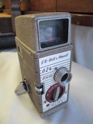 VINTAGE G.B BELL & HOWELL 624 CINE 8mm MOVIE CAMERA 1960's