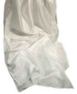 Blank silk scarves for silk painting or dyeing, rolled edge finish 2 sizes below