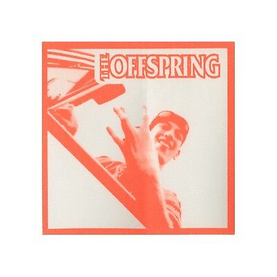 The Offspring authentic 1998 Americana Tour satin Backstage Pass guest orange