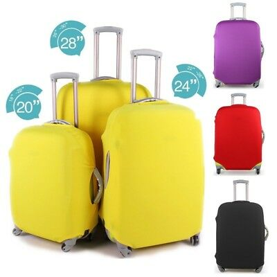 Waterproof Travel Luggage Cover Protector Case Elastic Suitcase Dust-Proof  NEW