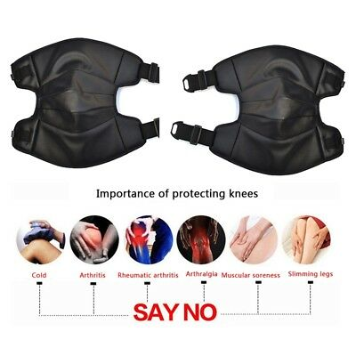 Motorcycle Knee Pads Motocross Legs Support Protective Protector Gear PU Leather