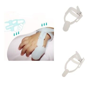 Stop Thumb Baby Kids Thumbsucking Sucking Finger Guard Protect Silicone Safe