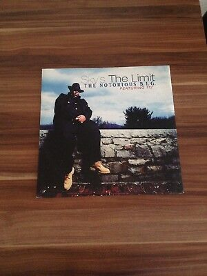 NOTORIOUS BIG `Sky´s The Limit ` Hip Hop Rap Vinyl