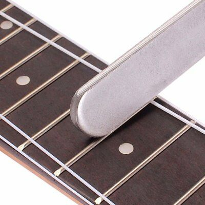 Guitar Frets Crowning Luthier File Stainless Steel Small Dual Cutting Edge T oi