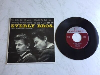 """The Everly Brothers seltene US EP """" This little Girl of mine """""""