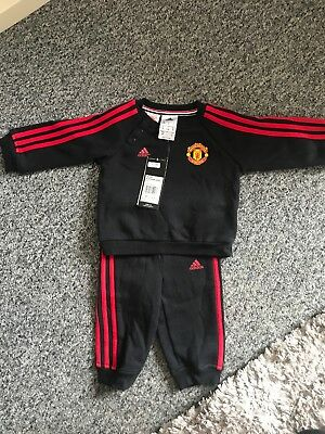 Manchester United baby Tracksuit 3-6 Months /Adidas /MUFC