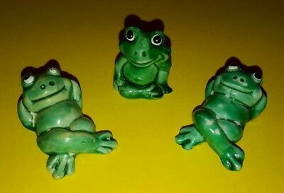 Üei - alt - 3 x Happy Frogs - 1986