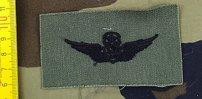 U.S. Army - Army Subdued Badges Master Aircraft Crew Green Combat Uniform