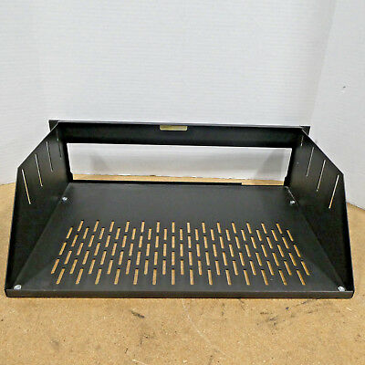 """Used Genuine Middle Atlantic Products 19"""" Wide Black Rack Mountable Equip Shelf"""