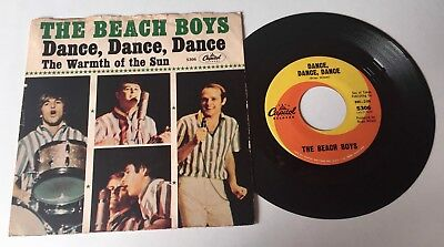 45 rpm   ~  The BEACH BOYS   /   Capitiol 5306 -  1964 w/ Picture Sleeve