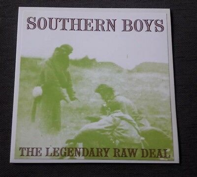 The Legendary Raw Deal Southern Boys Clear Wax Meteors  Psychobilly CLLP6452