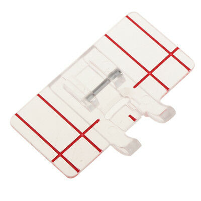 1pc Plastic Parallel Stitch Foot Presser For Brother Domestic Sewing Machine
