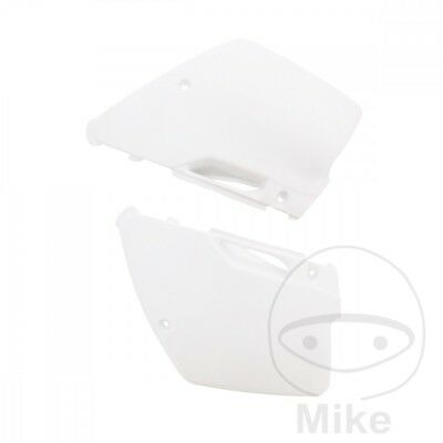 Polisport White Side Panels 8419000001 Kawasaki KX 125 K 1996