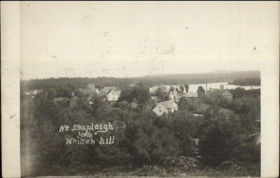 Shapleigh ME ME From Whitten Hill c1910 Real Photo Postcard