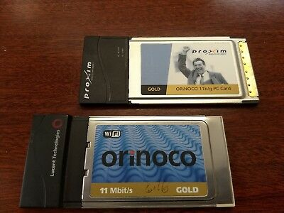 Orinoco Gold PC Card (WiFi) (2 cards)